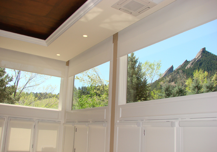 Boulder Motorized Roller Shades Flatiron Window Fashions