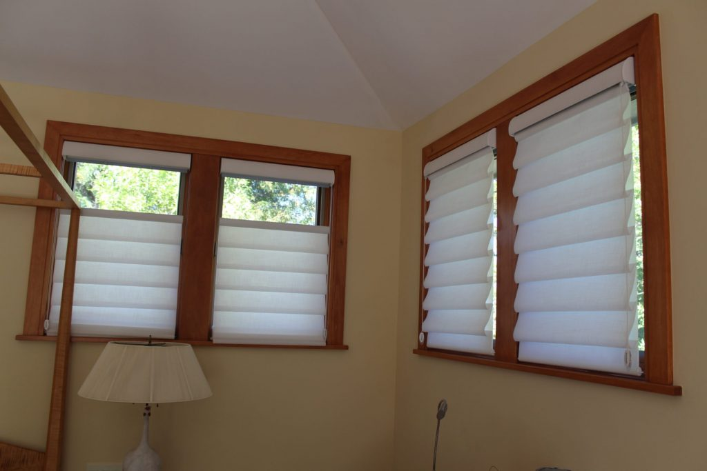 Top down bottom up flatiron window fashions for Motorized top down bottom up shades