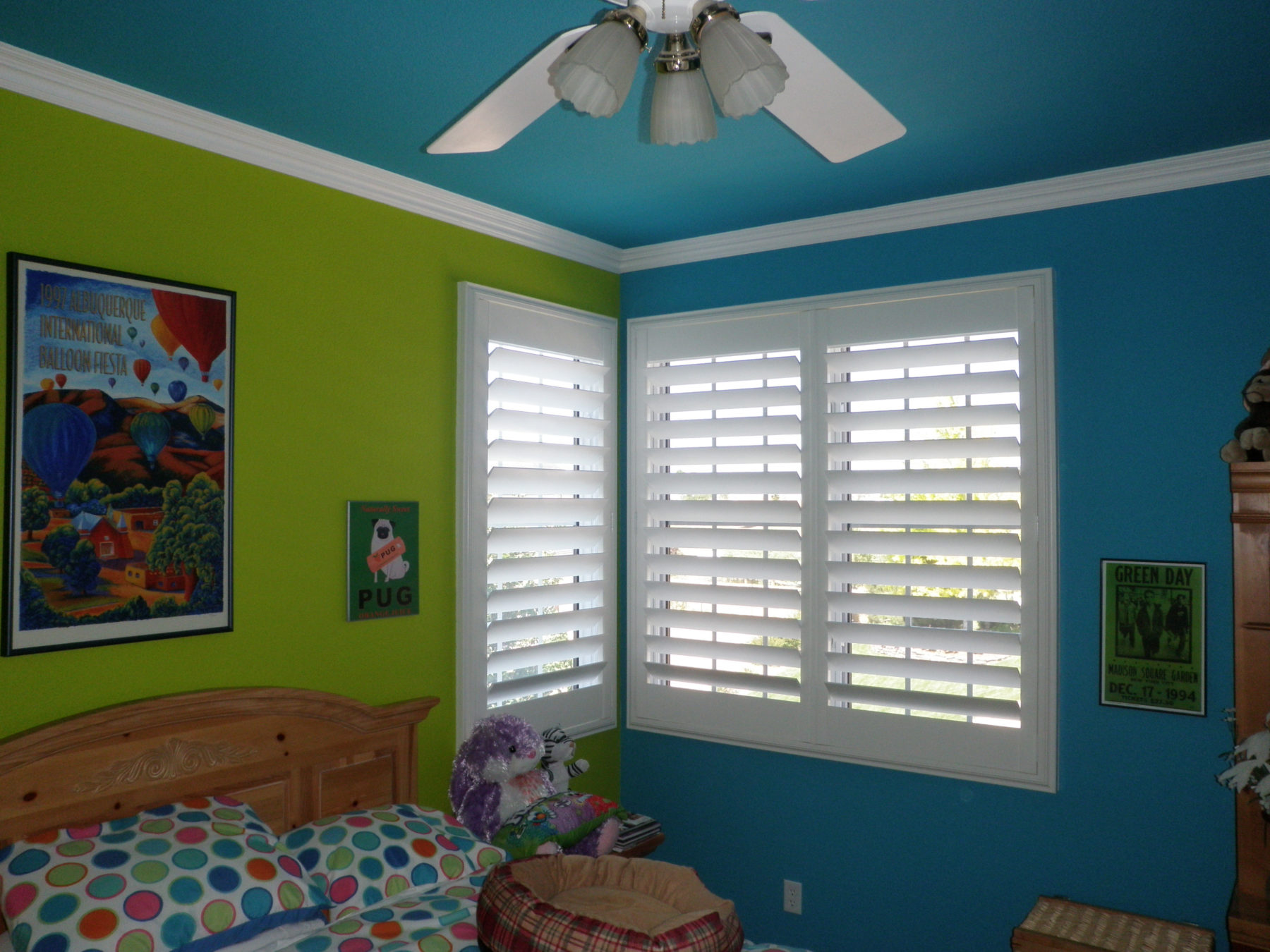 Boulder Hunter Douglas Plantation Shutters Flatiron Window