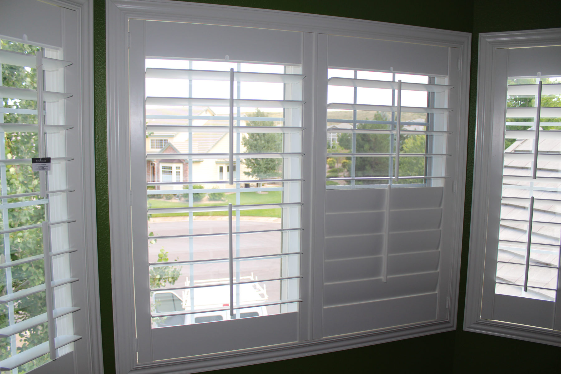 Boulder Hunter Douglas Plantation Shutters Flatiron