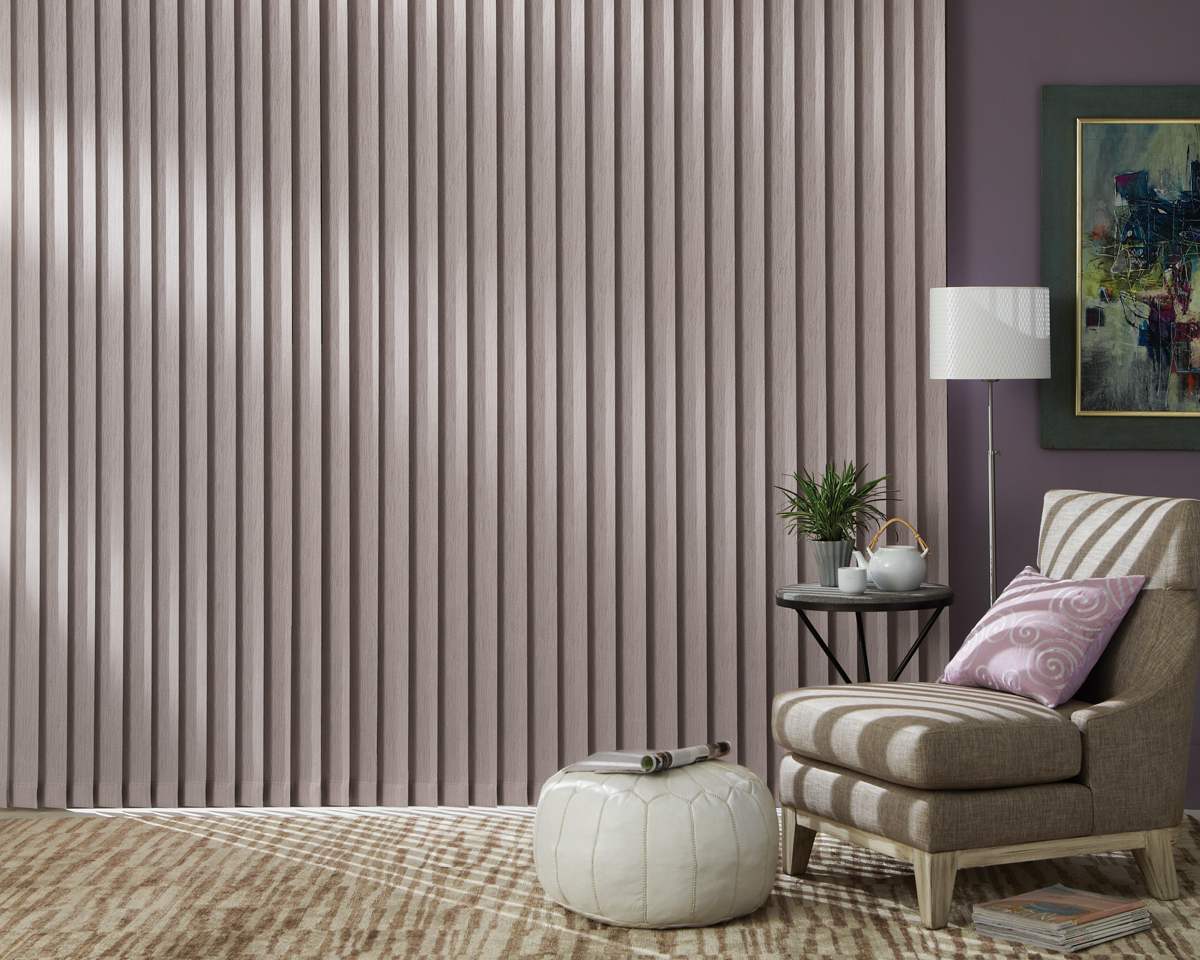 Vertical Blinds - Flatiron Window Fashions